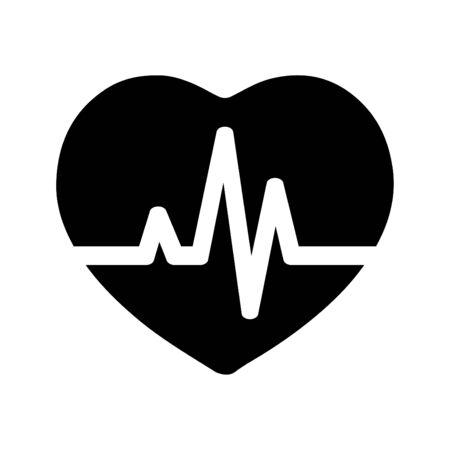 Belle icône Heart Pulse méticuleusement conçue. Parfait pour une utilisation dans la conception et le développement de sites Web, de fichiers et de présentations imprimés, de matériel promotionnel, d'illustrations ou d'infographies ou de tout type de projets de conception. Vecteurs