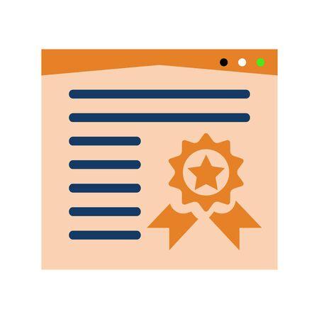 Icona segnalibro Vettoriali