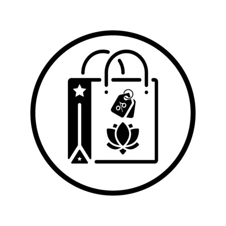 Beautiful, meticulously designed Shopping Bag Icon. Perfect for use in designing and developing websites, printed files and presentations, Promotional Materials, Illustrations or Info graphic or any type of design projects.