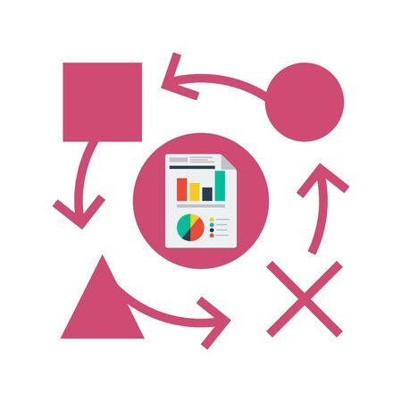 Planning Icon Stock Illustratie