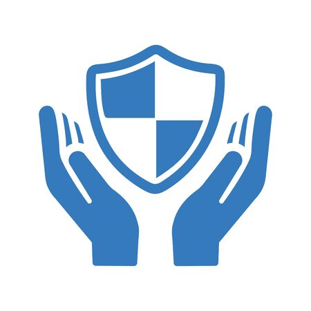 Beautiful design and fully editable Security Shield Icon, Employment Security Icon for commercial, print media, web or any type of design projects. Ilustração