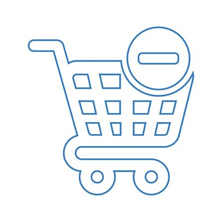 Well organized and fully editable Remove cart icon, delete from shopping cart for any use like print media, web, stock images, commercial use or any kind of design project. Hope this icon help you. Thanks for using it. Ilustracja