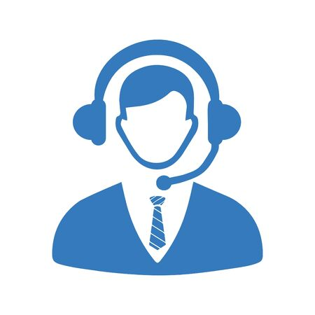 Creative element design from stock market icons collection. Pixel perfect Call center, consultant, service, customer support icon for commercial, print media, web or any type of design projects. Stock fotó - 137880321
