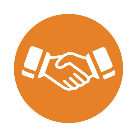 Creative element design from stock market icons collection. Pixel perfect Handshake Icon, Business Partner, Partnership, Success for commercial, print media, web or any type of design projects. Vecteurs