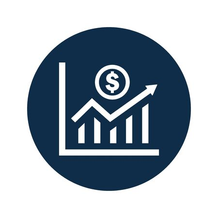 Well organized and fully editable Profit statistics icon, Earning growth chart icon for vector stock and many other purposes.