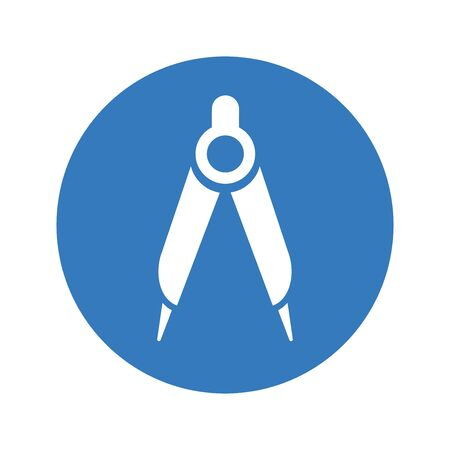 Pixel perfect Compass icon, math, protractor for commercial, print media, web or any type of design projects.