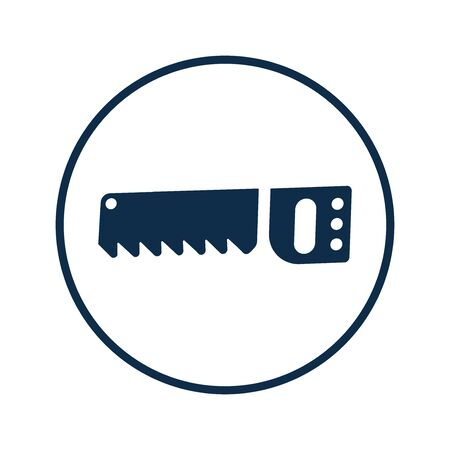 Pixel perfect Saw icon, wood cutter tool for commercial, print media, web or any type of design projects.