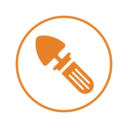 Pixel perfect Shovel icon, construction tool for commercial, print media, web or any type of design projects. 일러스트