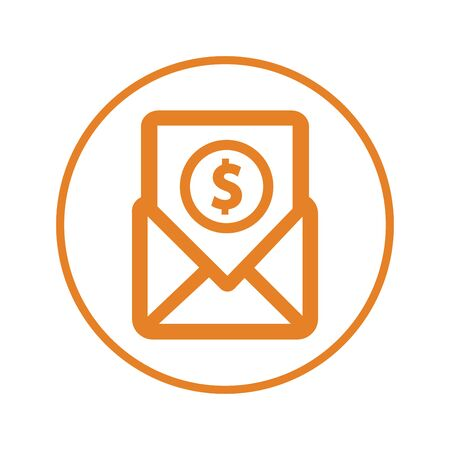 Beautiful design and fully editable Email notification, Bill, payment, salary icon for commercial, print media, web or any type of design projects.