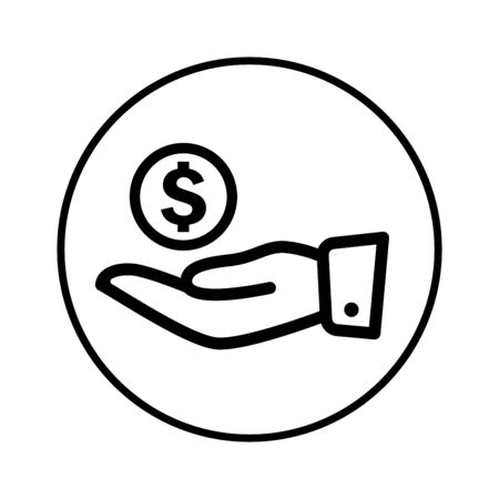 Well organized and fully editable Investment icon, save money, money on hand vector for any use like print media, web, stock images, commercial use or any kind of design project. Hope this icon help you. Thanks for using it.