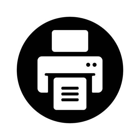 Nice design of the Print out, print files, printer, printing, publish document icon for commercial, print media, web or any type of design projects.