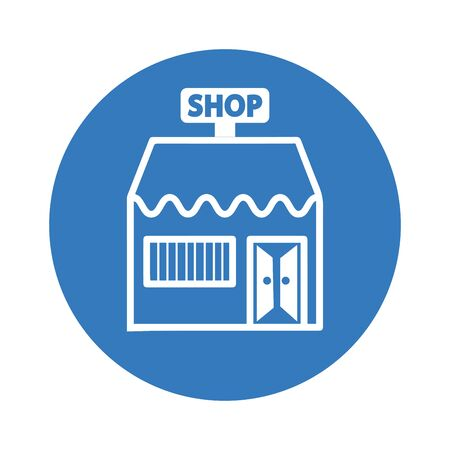 Store icon, market, retail shop for commercial, print media, web or any type of design projects.