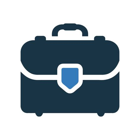 Briefcase icon, suitcase vector, bag. Perfect for use in designing and developing websites, printed files and presentations, stock images, Promotional Materials, Illustrations or Info graphic or any type of design projects.