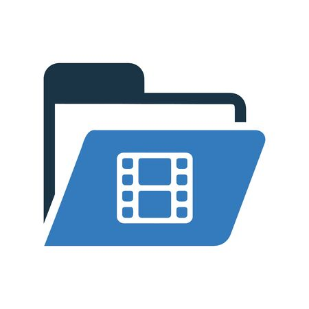 File, folder, office supplies icon. Use for commercial, print media, web or any type of design projects.