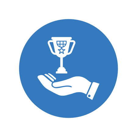 Award, trophy icon. Perfect for use in designing and developing websites, printed files and presentations, stock images, Promotional Materials, Illustrations or Info graphic or any type of design projects.