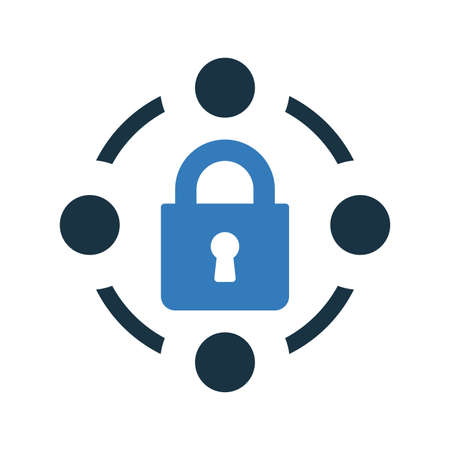 Security lock icon. Beautiful, meticulously designed icon. Well organized and editable Vector for any uses.