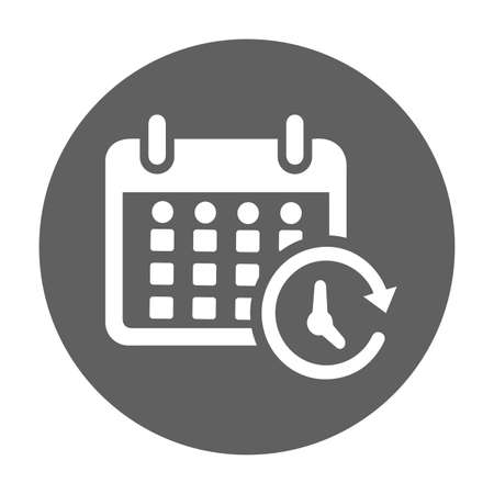 Calendar, schedule icon. Beautiful, meticulously designed icon. Well organized and editable Vector for any uses. Ilustrace