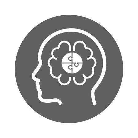 Brainstorming, creative idea icon. Perfect use for print media, web, stock images, commercial use or any kind of design project. Ilustrace