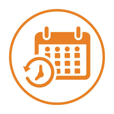 Calendar, schedule icon. Beautiful, meticulously designed icon. Well organized and editable Vector for any uses. Illustration
