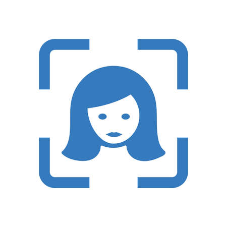 Camera, face detection icon. Beautiful design and fully editable vector for commercial use, printed files and presentations, Promotional Materials, web or any type of design projects.