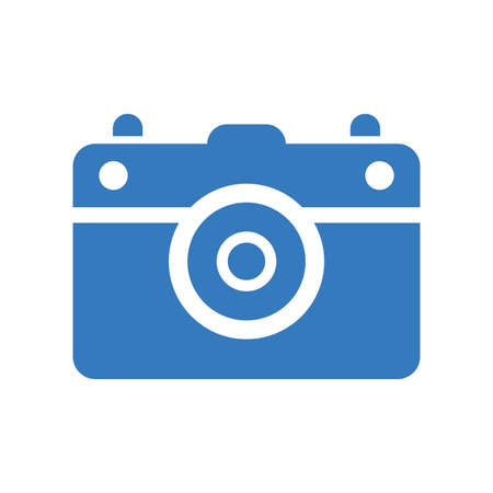 Photography camera icon. Beautiful design and fully editable vector for commercial use, printed files and presentations, Promotional Materials, web or any type of design projects.  イラスト・ベクター素材