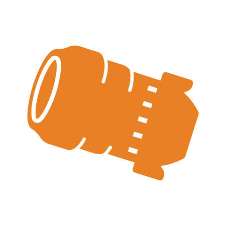 Camera lens icon - Well organized and editable Vector design using in commercial purposes, print media, web or any type of design projects.