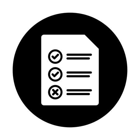 Checkmark, checklist icon - Well organized and editable Vector design using in commercial purposes, print media, web or any type of design projects.