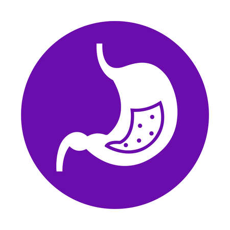 Organ, stomach icon - Perfect for use in designing and developing websites, printed files and presentations, Promotional Materials, Illustrations or any type of design project.