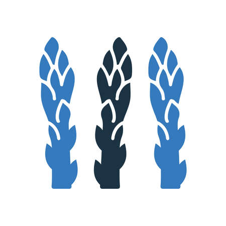 Vegetable, sparrow grass icon. Beautiful design and fully editable vector for commercial use, printed files and presentations, Promotional Materials, web or any type of design projects.