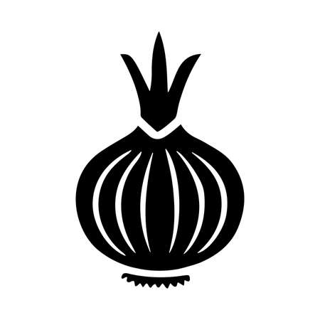 Onion icon - Perfect for use in designing and developing websites, printed files and presentations, Promotional Materials, Illustrations or any type of design project.