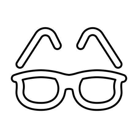 Summer, sunglasses icon is use in designing and developing websites, commercial, print media, web or any type of design project. Ilustracja