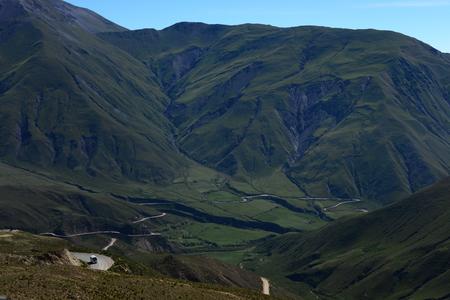 Winding road, Salta, Argentine