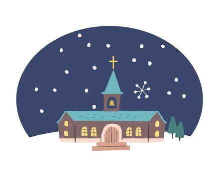 Church and Snow