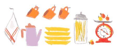 Various kitchen goods