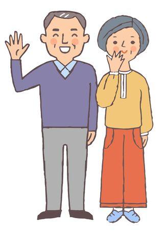 Senior couple Stock fotó - 149526791