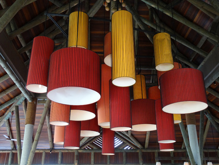 ceiling: lamps hanging from ceiling