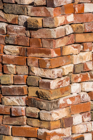 masonary: Pile of bricks Stock Photo