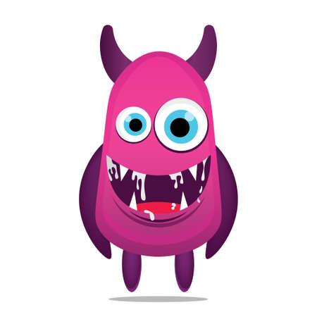 cute illustration monsters design mascot