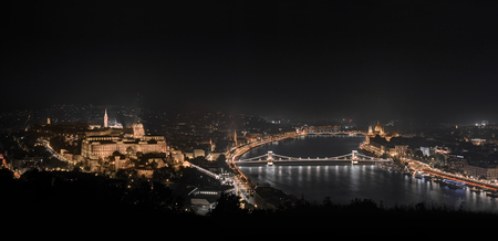 irradiation: Budapest Sightseeing Stock Photo