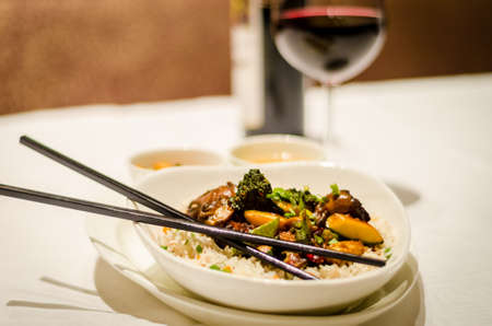 chop stick: Chinese Food