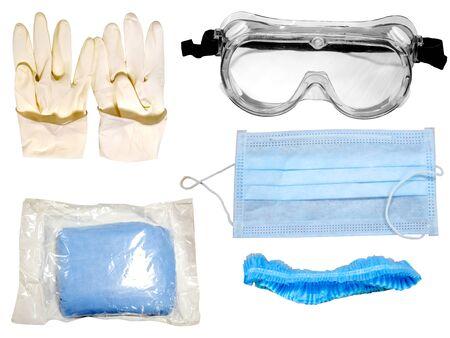 Persönliche Schutzausrüstung (PSA)-Kit