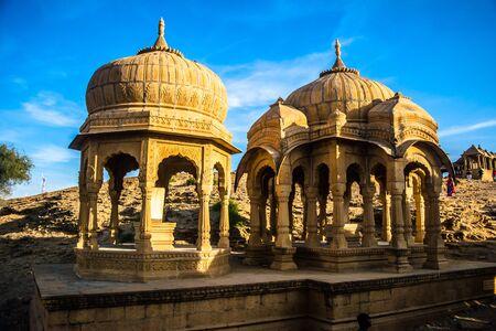 Bara bagh Jaisalmer, Rajasthan India, Sunset view Stock fotó