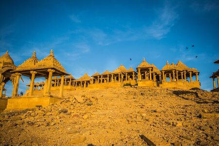 Bara bagh Jaisalmer, Rajasthan India, Sunset view