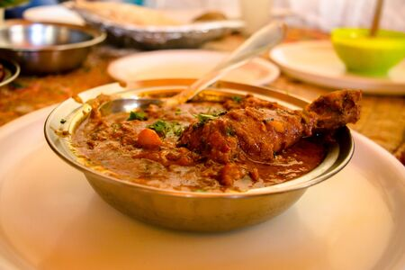 Laal Maas, Famous Rajasthani Dish, Laal Chicken and Laal mutton
