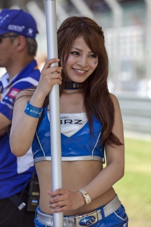 gt: Sepang F1 Circuit, 10 giugno 2012, Giappone GT Beauty Queen