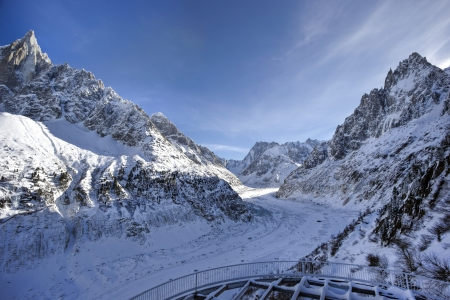 Glacier at French Alps Stock Photo - 17306427