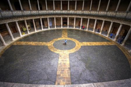 carlos: Ronda Andalusia, Spain, 15 Dec 2012, View of Palacio De Carlos V Editorial