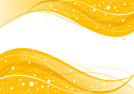 curve line: Abstract Christmas background, vector illustration
