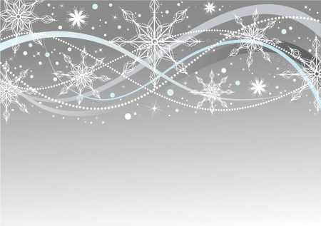 Abstract Christmas background, vector illustration Stock Vector - 8447549