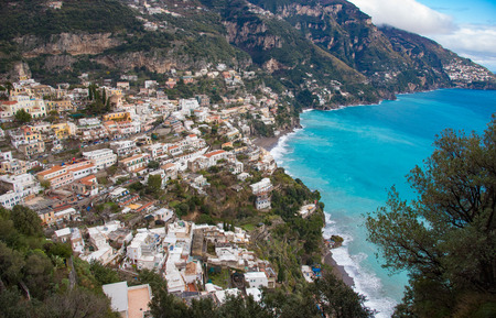 positano: Positano is a village and comune on the Amalfi Coast in Campania, Italy